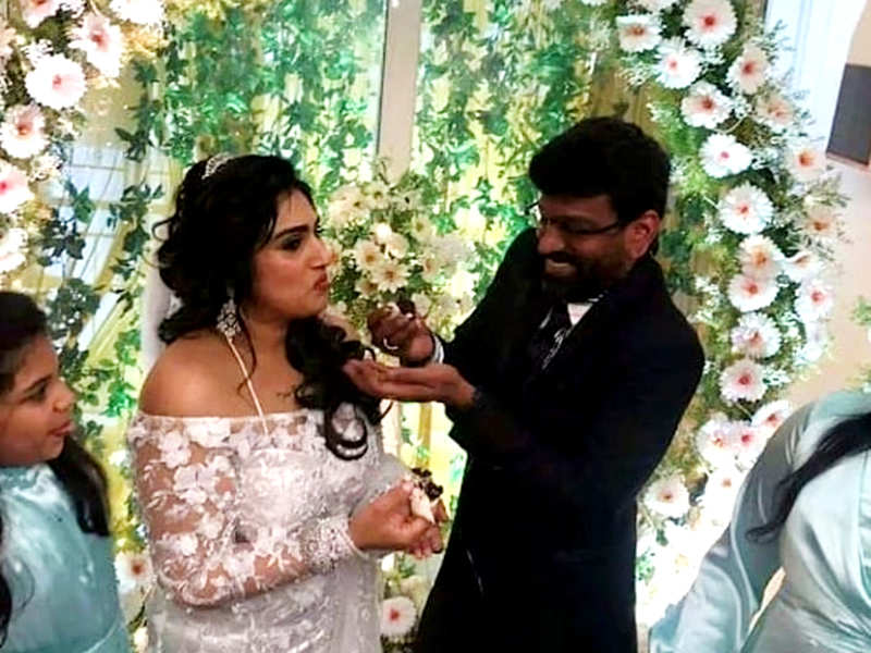 Bigg Boss Tamil 3 fame actress Vanitha Vijaykumar reacts to speculations of throwing husband Peter Paul out of the house, says, I believe in miracles and hoping for one (Photo - Instagram)