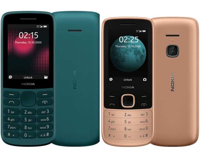 Nokia 215 (left); Nokia 225 (right)