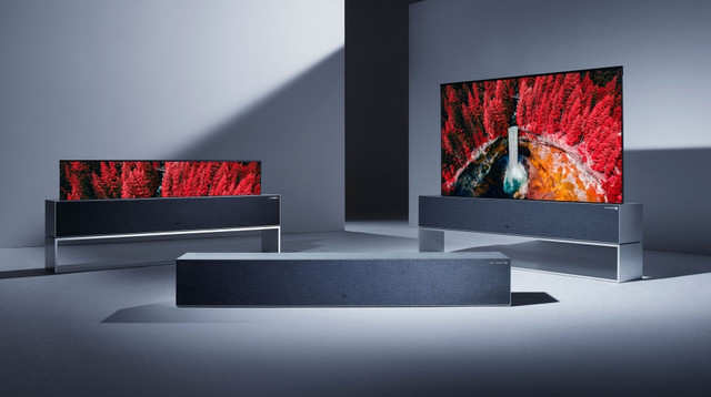 LG's first rollable TV priced at $87000 goes on sale