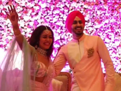 Neha, Rohanpreet's grand Roka ceremony; watch