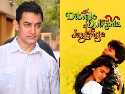 Aamir on 25 years DDLJ: Thank you Kajol, SRK