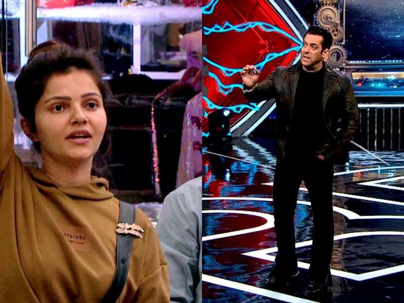 Bigg Boss 14: Bigg Boss 14: Rubina Dilaik complains about Salman Khan's  comment; says latter disrespected her and husband Abhinav Shukla - Times of  India