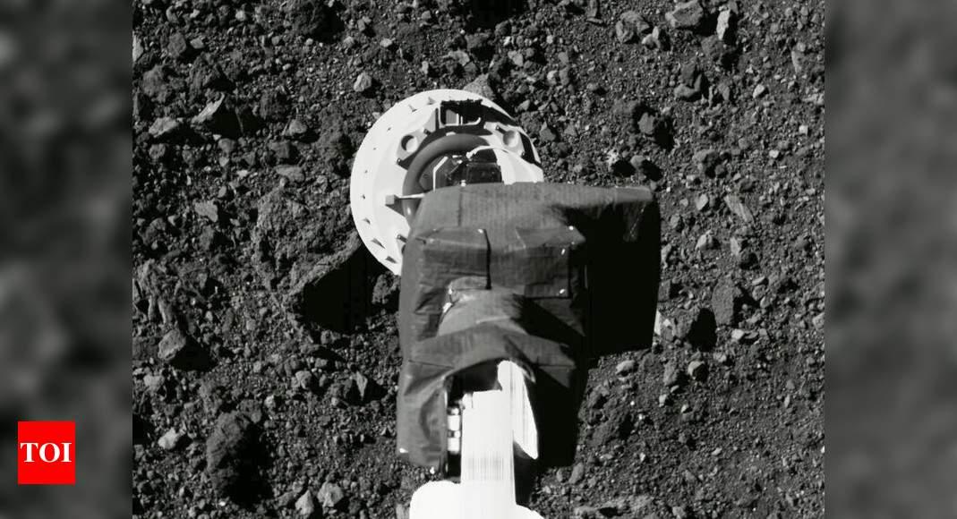 NASA's OSIRIS-REx spacecraft successfully touches asteroid