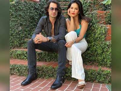 Sunny Leone wishes hubby on his birthday
