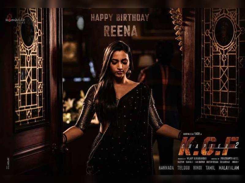 Team KGF release new still of Srinidhi Shetty on her birthday