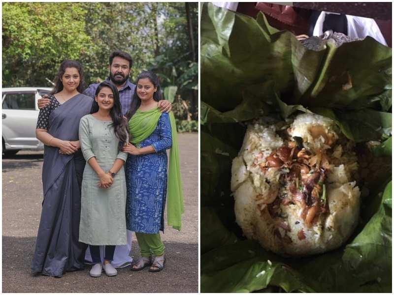 Mohanlal treats his co-stars with lip-smacking Biryani on the sets of 'Drishyam 2'