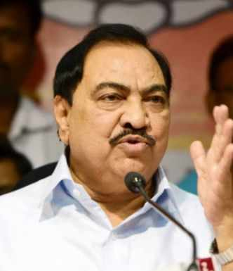 Eknath Khadse quits BJP, will join NCP