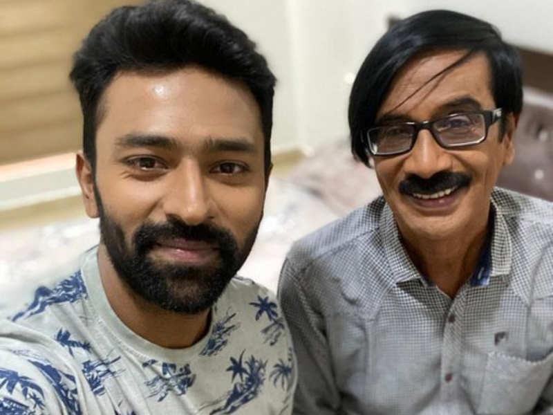 Shanthnu and Manobala begin shooting for Murungakkai Chips