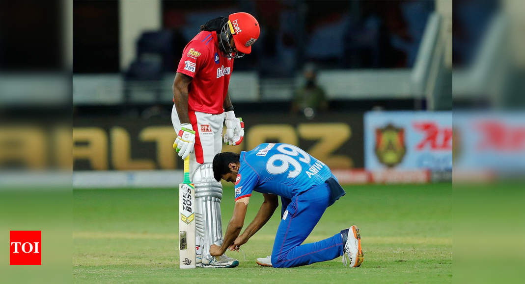 Tie both his feet together, Ashwin teases Chris Gayle