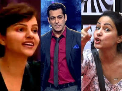 Times when Rubina went against BB and host