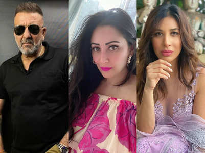 Maanayata, Sophie cheer for Sanjay Dutt