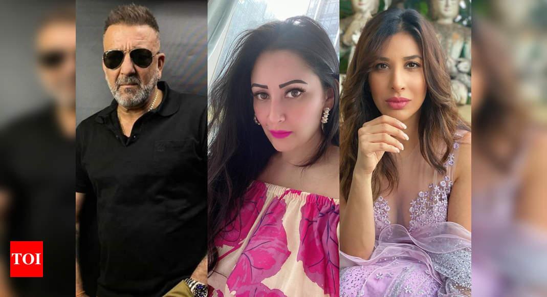 Maanayata, Sophie cheer for Sanjay Dutt