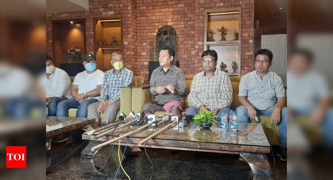 Absconding GJM supremo Bimal Gurung resurfaces