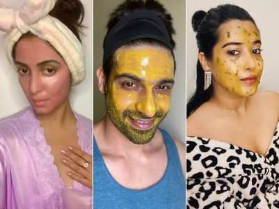 TV celebs share their homemade face mask