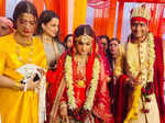 Inside pictures from Kangana Ranaut's brother's wedding celebrations