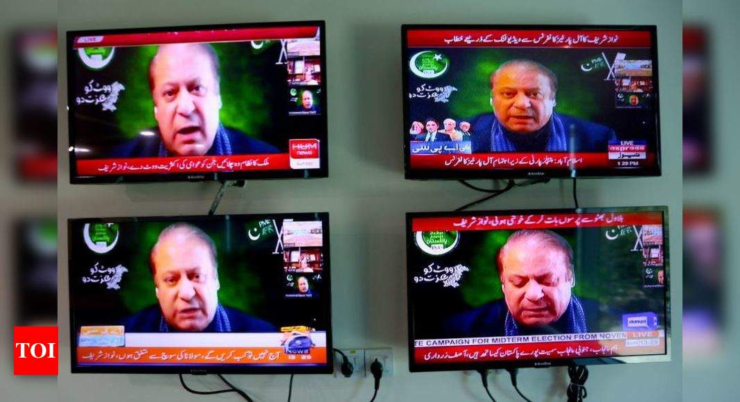 Two parallel governments control Pakistan: Former PM Nawaz Sharif
