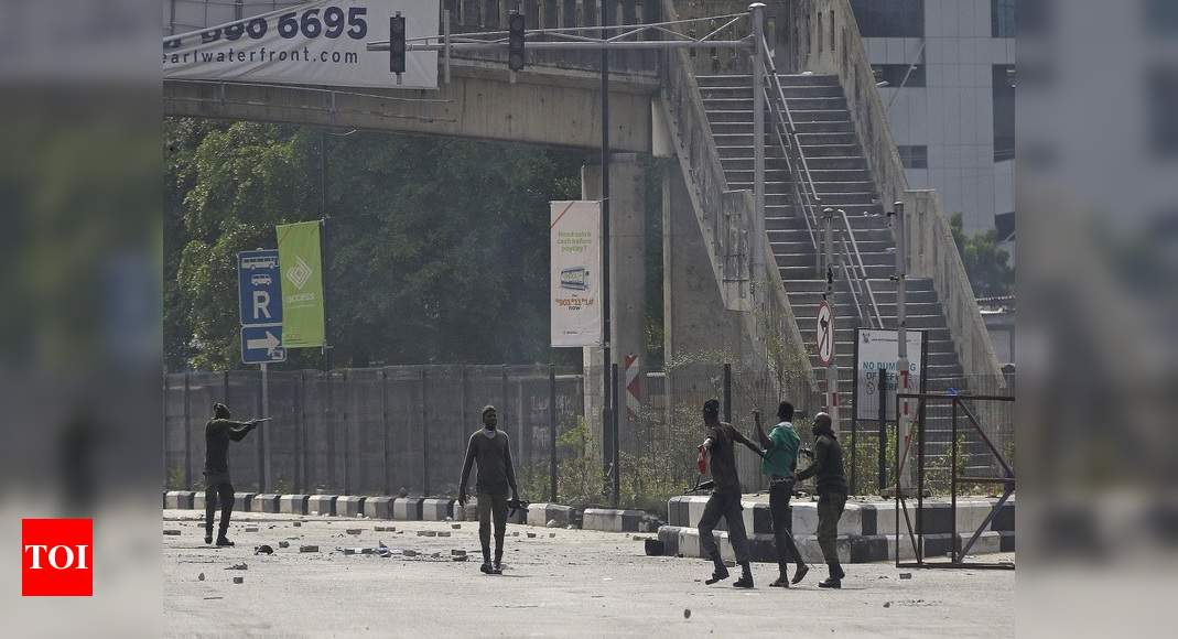 Nigeria unrest spreads after shooting of protesters – Times of India