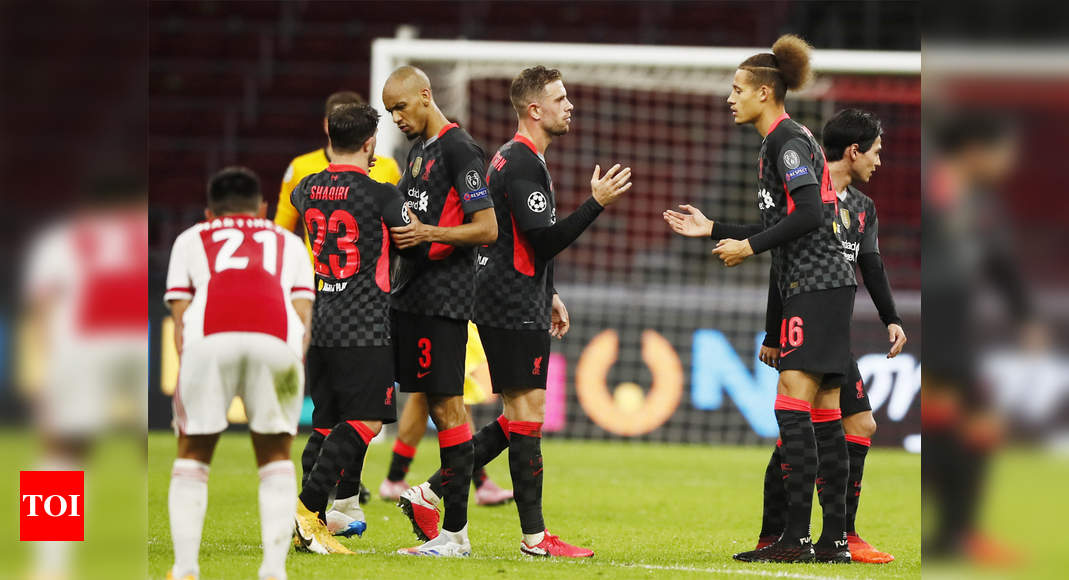 CL: Own goal hands Liverpool away win at Ajax