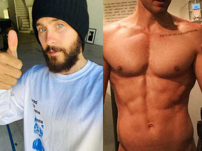 Jared Leto strips down on social media