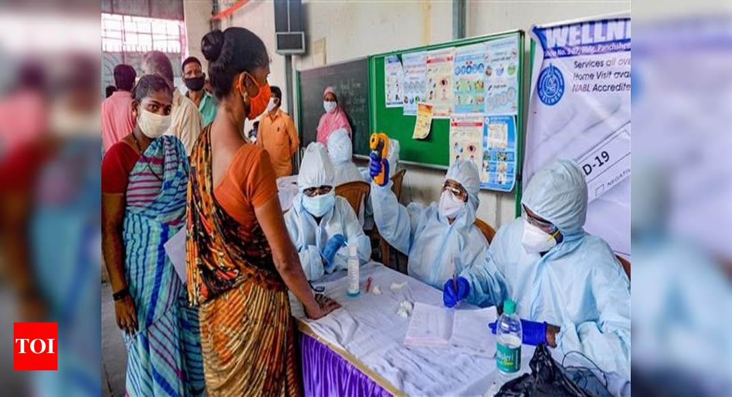 With spike of 55,838 cases, India's Covid-19 tally crosses 77-lakh mark