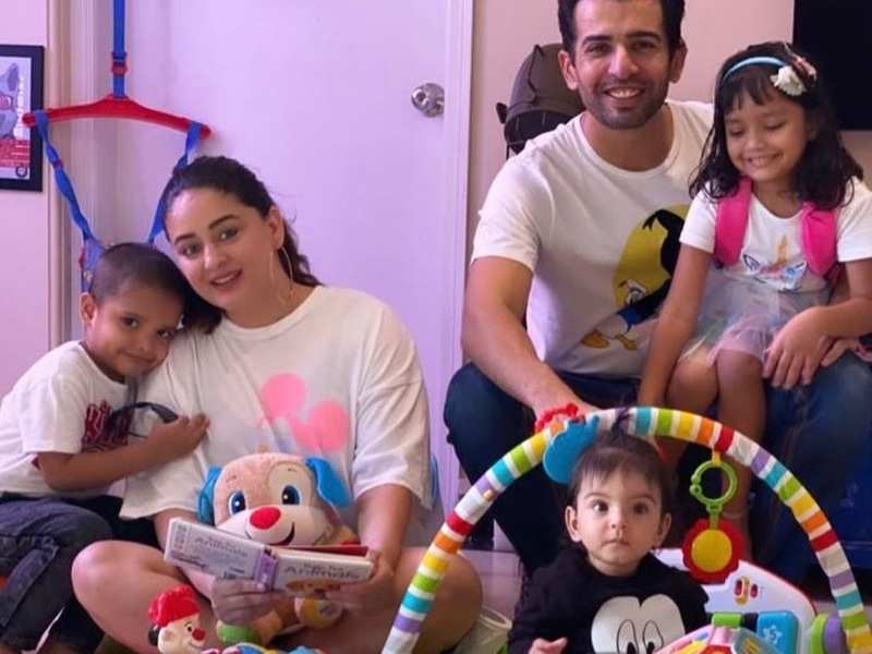 Mahhi Vij slams 'frustrated' trollers after being accused of not taking care of her foster kids