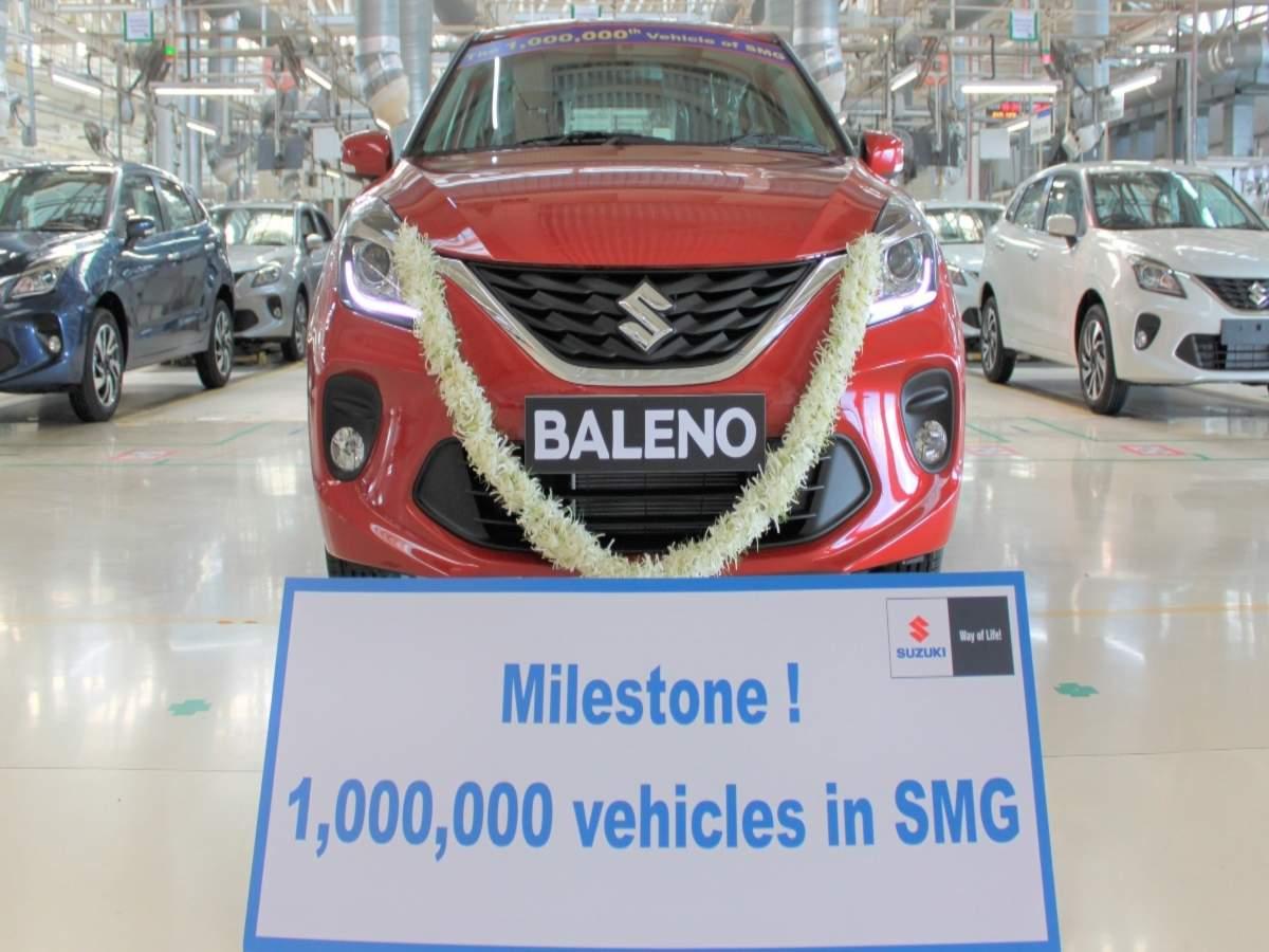Maruti Suzuki News: Suzuki's Gujarat plant hits 1 million ...