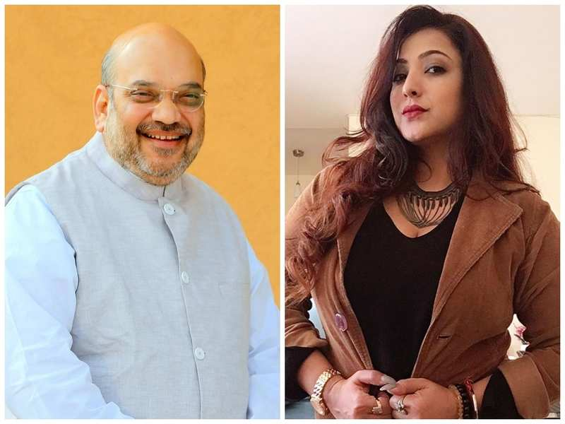 Sweety Chhabra sends warm birthday wish to Home Minister Amit Shah