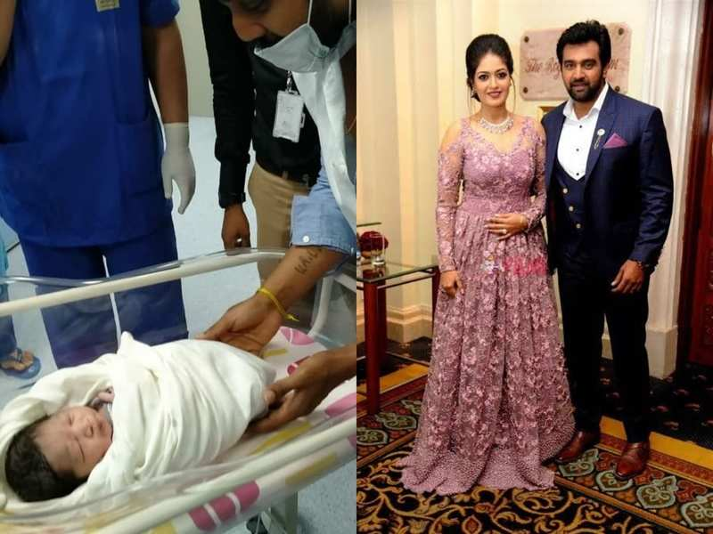 Junior Chiranjeevi Sarja is born on his parents' engagement anniversary