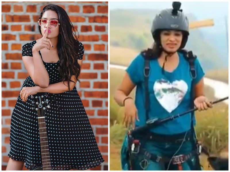 Throwback Thursday: TV host Diya shares her first paragliding experience