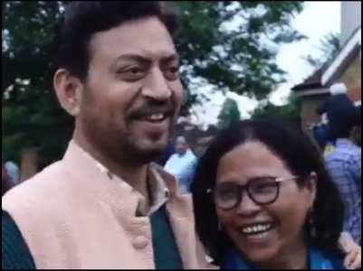 Babil shares a video of Irrfan & Sutapa