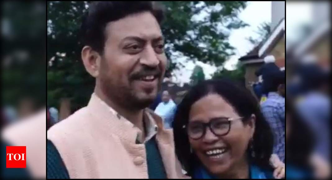 Babil shares a video of Irrfan & Sutapa