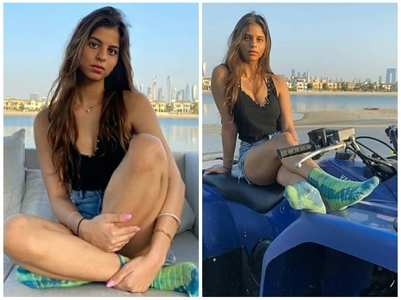 Pics from Suhana Khan's stay in Dubai