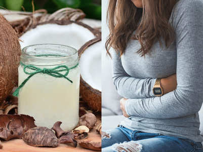 Have coconut oil for relieffrom constipation