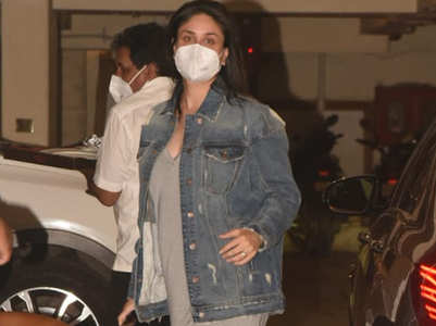 Mom-to-be Kareena rocks a denim jacket