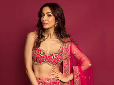 5 lehenga choli combinations of Malaika Arora to try this festive season