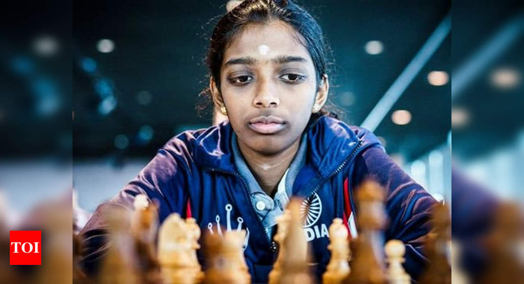 R Vaishali wins gold in online Asian chess meet | Chess News – Times of India