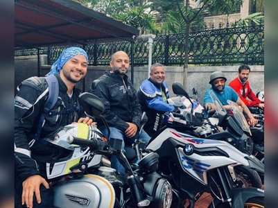 Photo: Biker boys Kunal & Arshad on a fun ride
