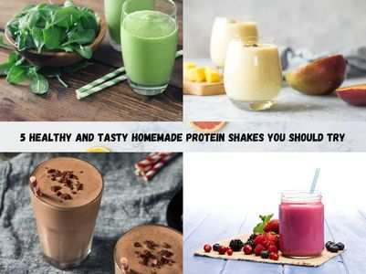 5 healthy and tasty DIY homemade protein shakes