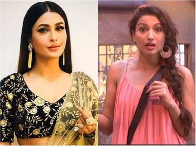 Gauahar reacts to Pavitra abusing her