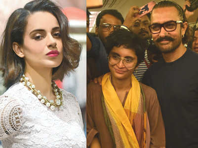 Kangana takes a jibe at Aamir's statement