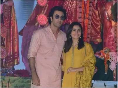 Throwback: Ranbir-Alia celebrate Durga Puja