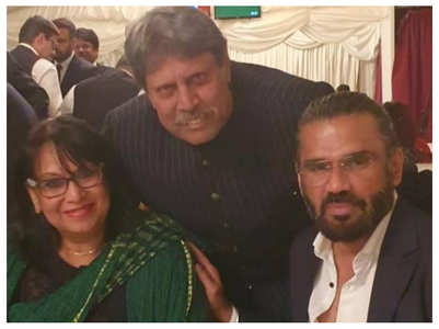 Suniel Shetty is a huge Kapil Dev fan