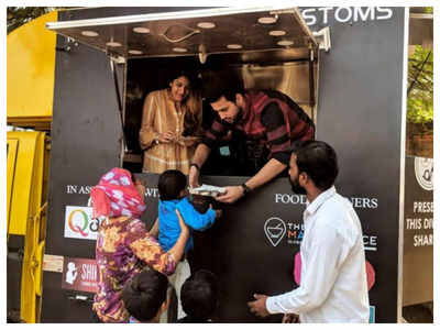 Despite bleak business due to COVID, restaurant owner feeds the poor