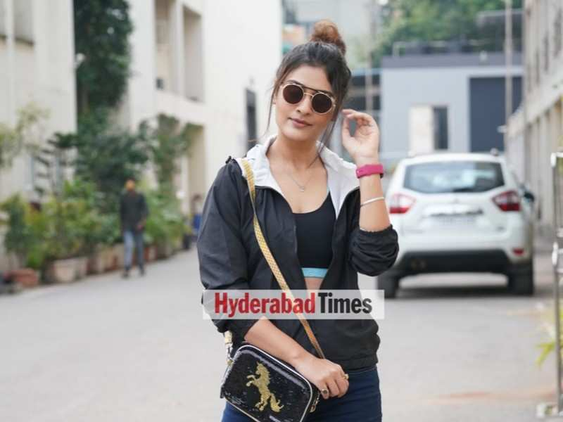 Spotted: Payal Rajput up and about the city looking like a total fashionista