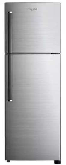 Whirlpool NEOFRESH 278LH PRM 2S 265 L 2 Star Frost-Free Double Door Refrigerator (Chromium Steel)