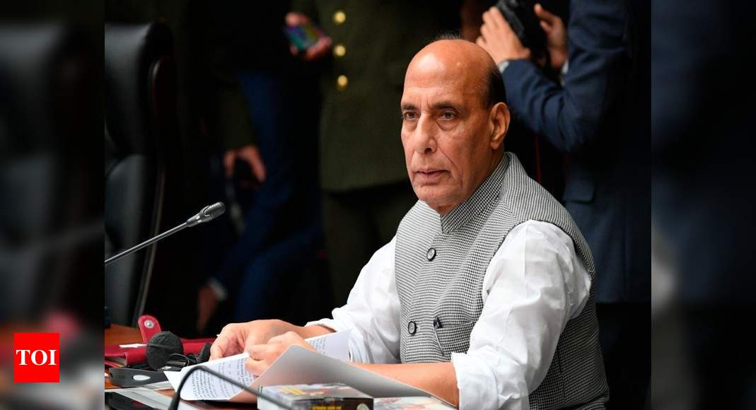 Rajnath to perform 'shastra puja' with jawans along LAC | India News – Times of India