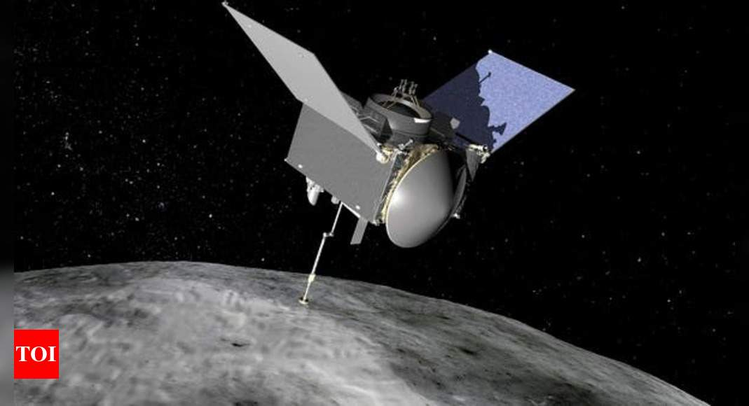 NASA's OSIRIS-REx Spacecraft collects significant amount of asteroid
