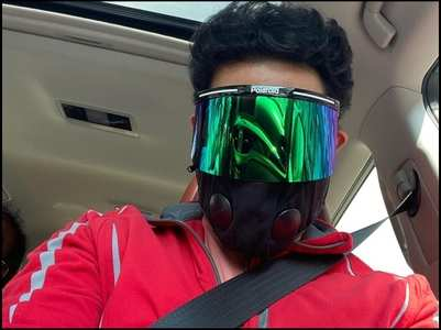 Abhishek's face shield deserves your attention