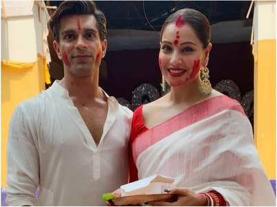Bipasha on Durga Puja celebrations at home