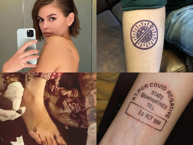 From Ruby Rose to Paris Jackson and Kaia Gerber, quarantine tattoos are a rage among celebs as well regular millenians